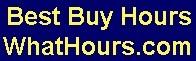 Best Buy hours