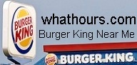 Burger King near me