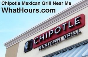 Chipotle Mexican Grill Near Me