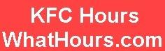 KFC hours