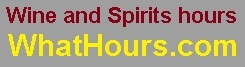 Wine and Spirits hours